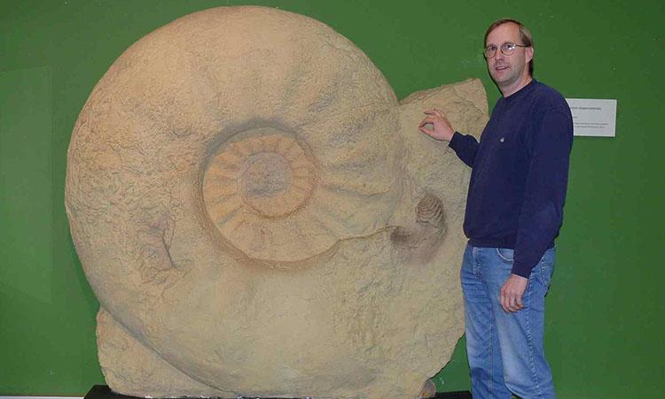 largest nautilus Parapuzosia seppenradensis