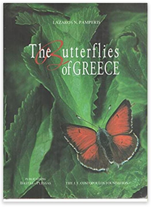 The butterflies of Greece book