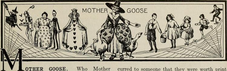 spider poem mother goose