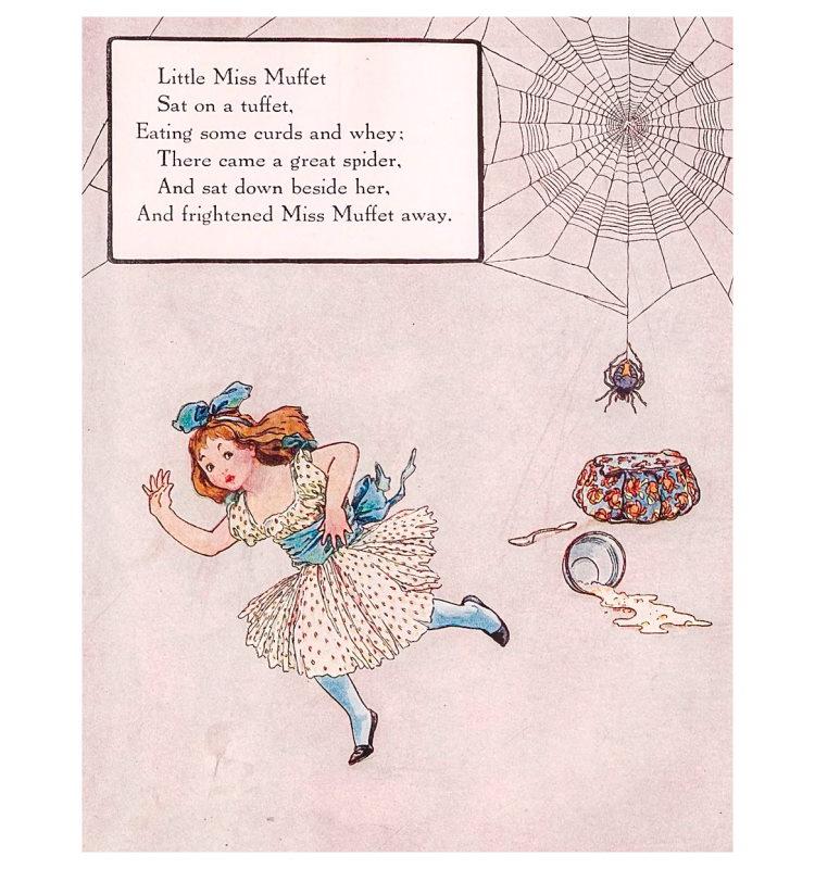 along came a spider poem 1915