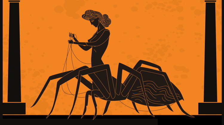 spider mythology ancient greece