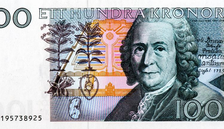Carl Linnaeus bank note